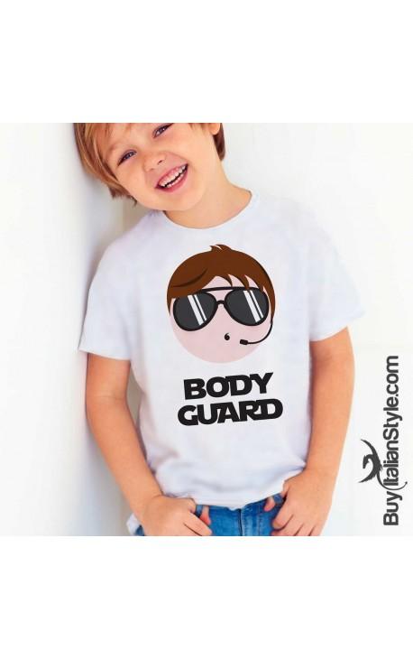 "Boy's T-Shirt ""BODYGUARD"""