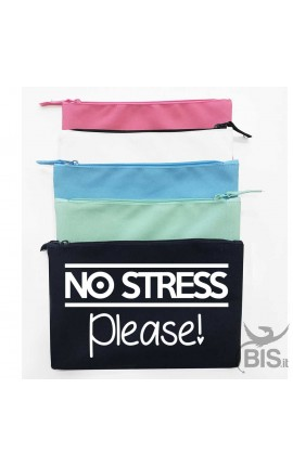 Pochette tela No stress please