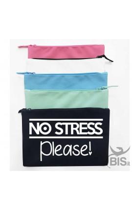 Pochette tela No stress please