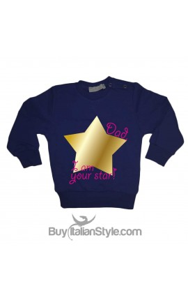 "Unisex Sweatshirt ""DAD, I am your STAR"""