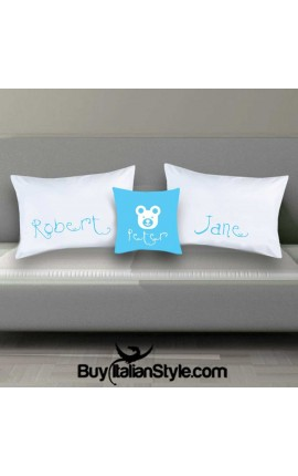 Customizable 3 pillowcases family kit