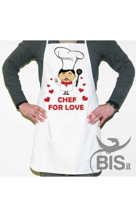 "Personalized Apron ""Chef for Love"""