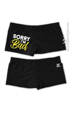 "Baby&Boys Swimsuit ""Sorry, I'm Bad"""