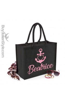 """Sea Bag """"Anchor & Name"""""""