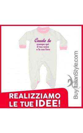 Tutina neonato invernale personalizzabile