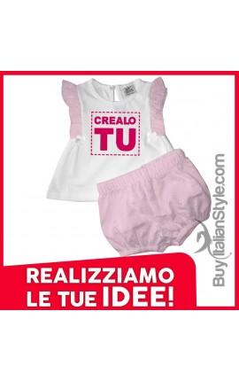 Completino neonata Personalizzabile