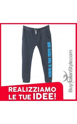 Pantaloni tuta personalizzabili