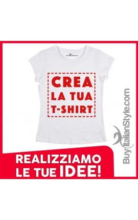 maglietta personalizzata donna