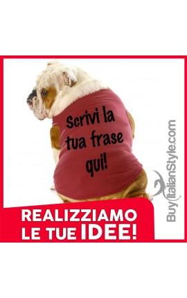 T-shirt per cani...