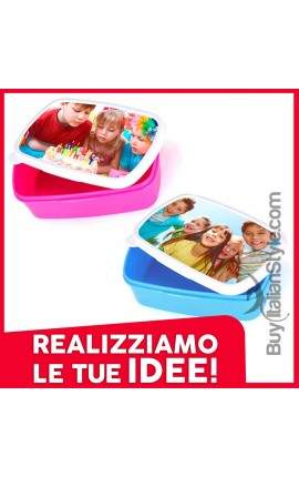 Customizable lunch box