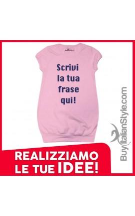 Abitino per neonata e bambina personalizzabile