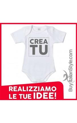 bis body neonato personalizzabile