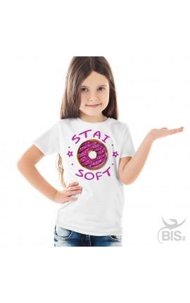 """T-shirt bimba """"Stai SOFT"""""""