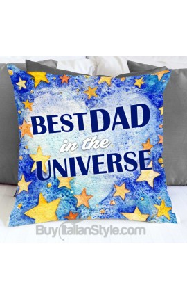 """Pillowcase """"Best Dad in the Universe"""""""