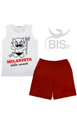 """Completino Estivo """"Milanista dalla nascita"""""""