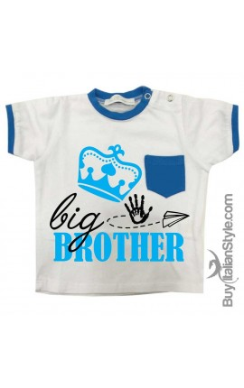 "T-shirt con taschino ""Big Brother"""