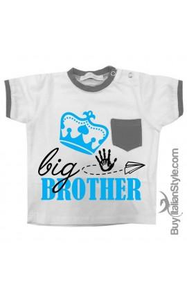 "T-shirt con taschino ""Big Brother"""