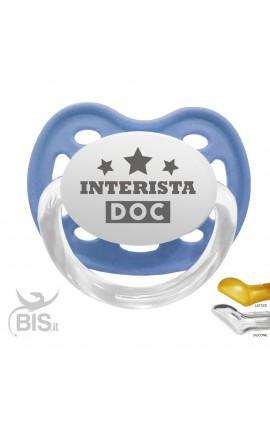 """Ciuccio modello Love """"Interista DOC"""""""