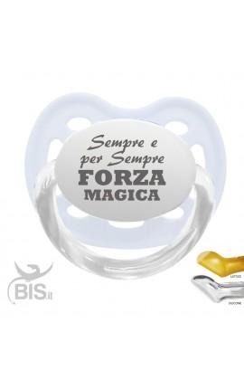 """Ciuccio modello Love """"Sempre forza magica"""""""""""