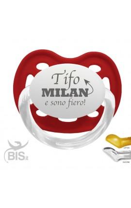 """Ciuccio modello Love """"Tifo Milan e sono fiero"""""""""""