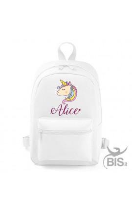 "Personalized Backpack MINI ""Simplex"" Unicorn"