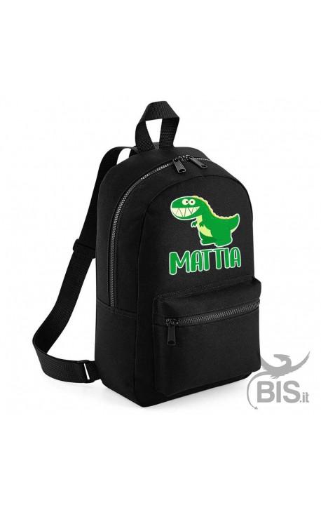 "Personalized Backpack MINI ""Simplex"" Dinosaur"