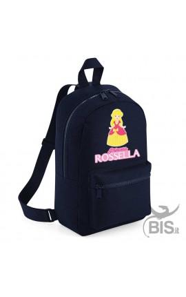 "Personalized Backpack MINI ""Simplex"" Princess"