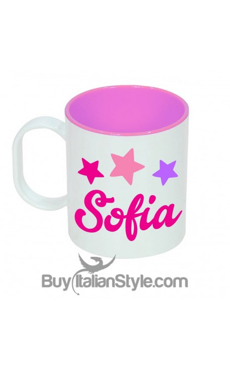 UNICORN Unbreakable plastic cup PERSONALIZED by name