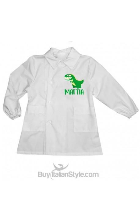 Personalized School Apron- Dinosaur