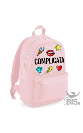 "Zaino MINI/MAXI ""Simplex"" personalizzabile con patches"