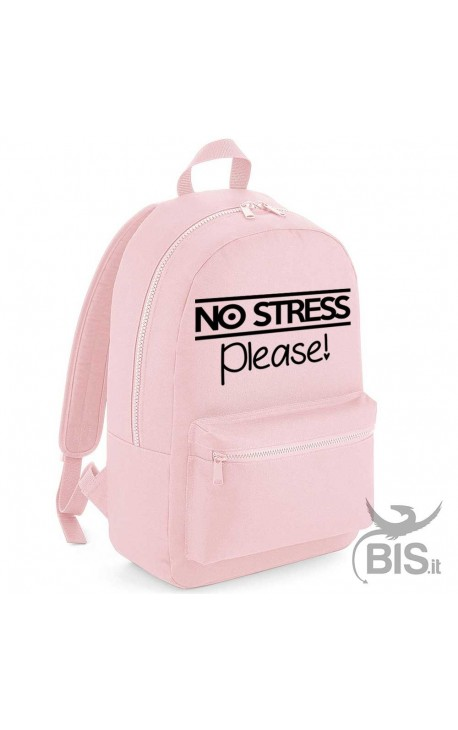 """Personalized Backpack MAXI """"Simplex"""" NO STRESS Please"""
