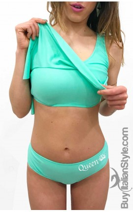 """Bikini Donna Volant """"QUEEN"""""""