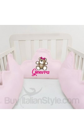 Customizable baby bumper with stars