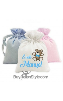 "5 pieces set of fancy sweet bag ""crown ""customizable"