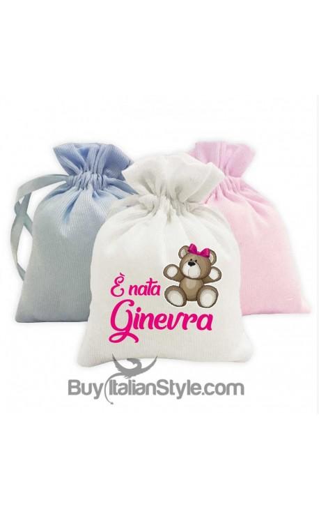 "5 pieces set of fancy sweet bag ""crown ""customizable"