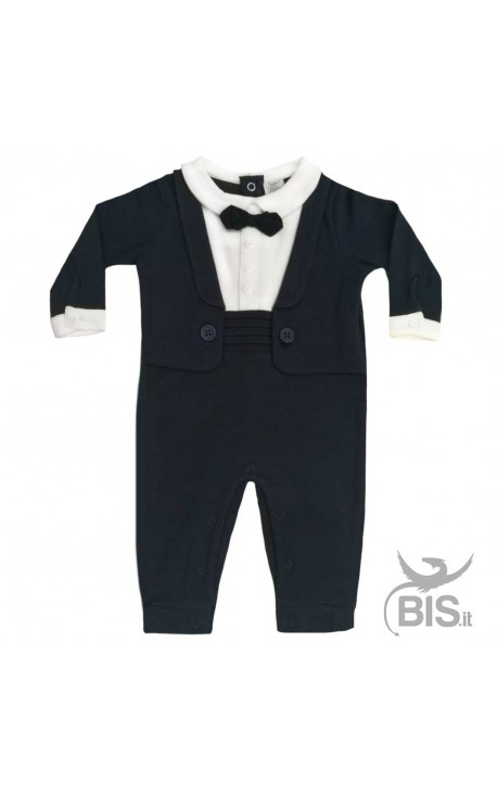 Tutina frac elegante per neonati in caldo cotone