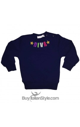 Personalized Girl's T-Shirt Glitter Letters