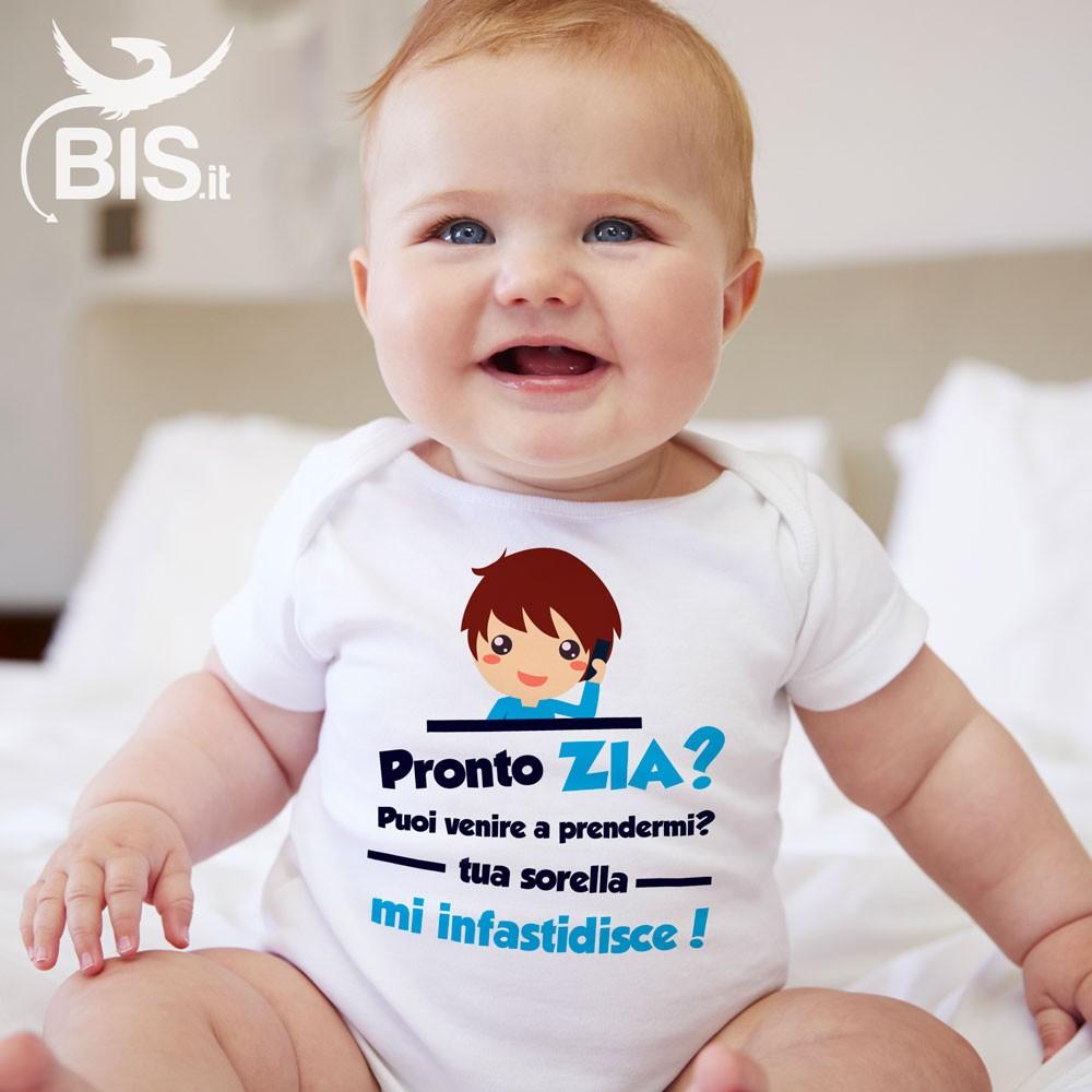 Regalo Primo Compleanno Nipotino body neonato idea regalo nipotino