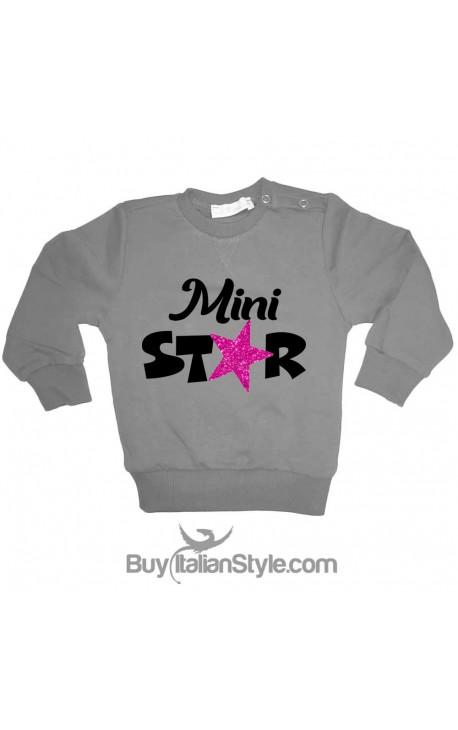 "Felpa bambina ""Mini star"""