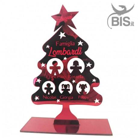 Albero di Natale in plexy personalizzabile