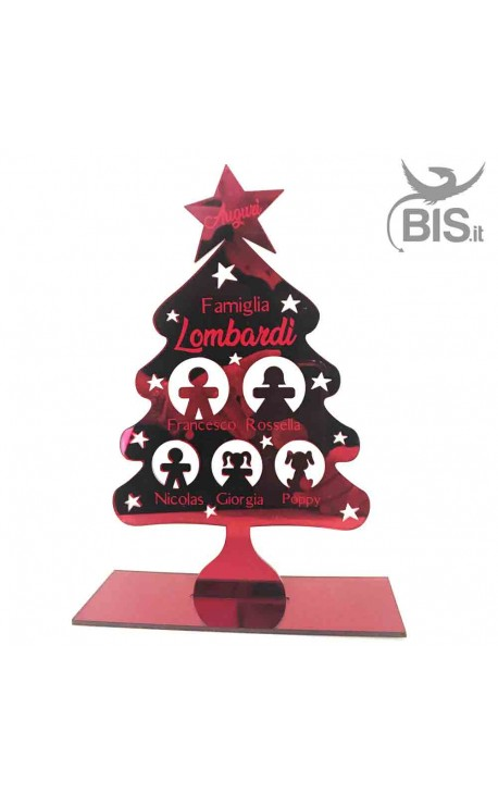 Personalized Christmas Family Tree Home Decoration