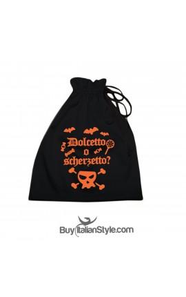 """Sacchetto Halloween """"Dolcetto o Scherzetto"""""""