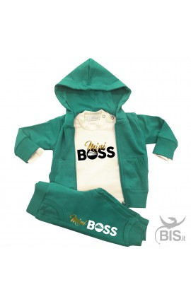 """Tuta bimbo e bimba """"Mini Boss"""""""