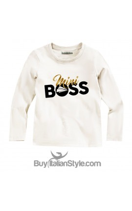 "BABY BOY'S TEE ""MINI BOSS"""