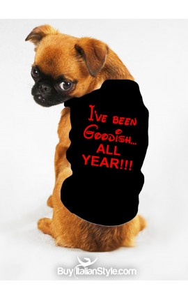 "PeT T-Shirt ""I've been Goodish all Year"""