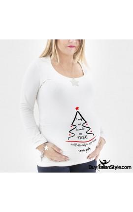 """T-shirt premaman """"alberello"""""""