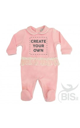 Personalized Baby Girl Tulle Romper Configuration
