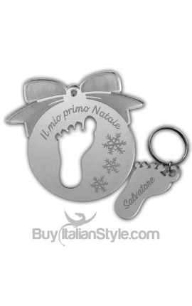 Personalized CHRISTMAS Ornament BOW