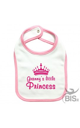 "Baby Bib ""Granny's Little Princess"""