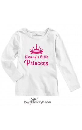 "BABY GIRL'S TEE ""Granny's Little Princess"""